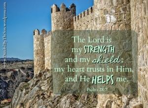 God my shield